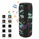 IPX5 Waterproof Stereo Bluetooth Speaker Mini Portable Bass with TF Card Slot