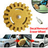 More images of Decal Removal Eraser Wheel w /  Power Drill Arbor Adapter 4 Rubber Pinstripe UK