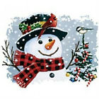 HOLIDAY SNOWMAN & BIRDIES T-SHIRT ALL SIZES AND COLORS