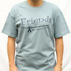 """""""Friends"""" The Answer to Cancer  - Cancer T-Shirt"""