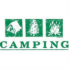 Camping T-Shirt All Sizes & Colors (355)