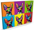 Chihuahua, Chiwawa Pop Art, Box CANVAS A3 to A1 -v161