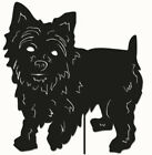 Yorkshire Terrier Garden Stake/Garden Art /Garden Decor / Pet Memorial / Hanging
