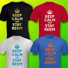 KEEP CALM & STAY REEM Only Way Is Essex MENS T-SHIRT