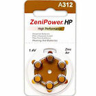 120 Any Size ZeniPower Hearing Aids Aid Batteries