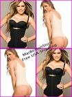 Brazilian Thong Body Shaper, Braless Ann Cherry Girdle, Fajas Reductoras