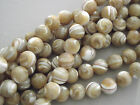 NATURAL MOTHER OF PEARL  BEADS SELECT SIZE/QUANTITY - OPTIONS FROM 0.99p