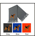 Airedale Terrier Scarf Embroidered by Dogmania
