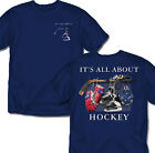 Its all about Hockey (Navy) youth Tee shirt gift