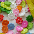 Assorted Daisy 15mm Plastic Buttons Sewing Scrapbooking Cardmaking Craft