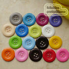 4 Holes Plastic Buttons Sewing Cardmaking Scrapbooking Craft 17mm,27mm,33mm