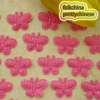 Hot Pink Butterfly Appliques Padded Sewing Scrapbooking Trim Craft APQC