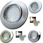 Sets- LED Decken Einbaustrahler Jan 230Volt Downlights 3W=25W Spots Warm / Kalt.