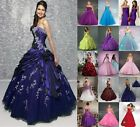 New Stock Prom Ball Dress Gown Size*6 8 10 12 14 16