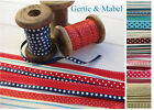 Danish & American Ribbon Selection Packs - Giftwrapping, Sewing, Cards, Tags...