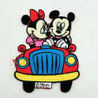 Couple Micky Embroidery Sew/Iron On Patches 9cm R0831