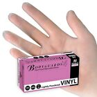 Box of 100 Bodyguard 4 Vinyl Lightly Powdered Disposable Gloves FREE DELIVERY
