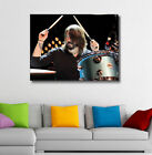 DAVE GROHL FOO FIGHTERS - FRAMED CANVAS POSTER ART PRINT~ FREE P&P Various Sizes