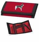 Siberian Husky Wallet Embroidered by Dogmania