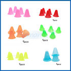 "BULK 5PCS 3"" WITCHES HAT SLALOM MARKER CONES SPORT SKATE SOCCER DRILL TRAINING"