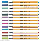 1x Stabilo Point 88 Fineliner drawing Pen 0.4mm Fine - All Colours Available