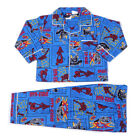 New Kids Boys Spider-man Long Sleeve Cotton Winter Pyjamas PJ Size