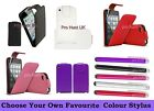 Red, White, Pink, Purple PU Leather Flip Case For Apple iPod Touch 4, 4th Gen 4G