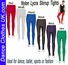ADULTS  Nylon Lycra Stirrup Dance/Ballet/Tights / Leggings by Tappers & Pointers