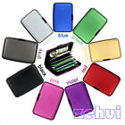 Color Waterproof Aluminum Metal Business ID Credit Card Wallet Holder Case Box