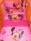 Disney Minnie Mouse PINK Cerise BEDDING SET - all sizes available