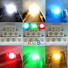 5050 PLCC-6 3Chips SMD SMT LED Lights Lamp White,Warm White,Red,Blue,Green,Amber