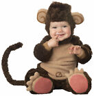 Lil' Monkey Infant Toddler Baby Costume Child Animal Brown Halloween