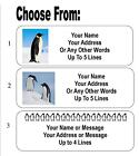 Kyпить 30 Penguin / Penguins Personalized Address Labels на еВаy.соm