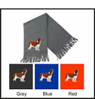 Welsh Springer Spaniel Scarf Embroidered by Dogmania