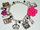 Basic Photo Charm Bracelet with your Fave Artist * You Choose* The Girls
