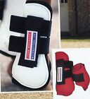 JOHN WHITAKER BIOPLASTIC NEOPRENE LINED TENDON & FETLOCK BOOTS SET OF 4