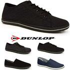 MENS CANVAS SHOES BOYS CASUAL LACE UP PUMPS PLIMSOLES BOAT DECK SHOES SIZE 6 -12