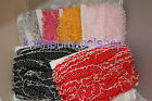 1 mtr of Sheer Gathered Trim - Box Pleated - 3 shades available