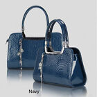 Freeshipping Luxurious/New/Fashion Womens Handbag/Tote With 8 Color