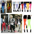 CelebStyle Sexy Shiny Neon Metallic Colour Polyester / Elastane Leggings Tights