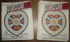 1987-88 Hearts/Heart of Midlothian Home Programmes *Pick Opponents*