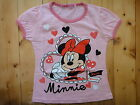 BNWT Minnie summer short sleeve Tee / T-shirt size 2,3,4,5,6,8