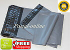 GREY Postal Postage Mailing Poly Bags Small jewellery 10 20 50 100 200 500 1000