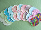 6 Washable Breast Nursing Pads Flannel Reusable Comfy! 100% Cotton Breastfeeding