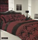 JANUARY SALE  -30% APACHI  BLACK/RED Duvet Cover & Pillowcase set - All Sizes