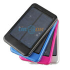 5000mAh 4-color Mobile Solar Power Bank External Battery Charger for iPad/iPhon