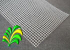 Model Wire Mesh -  Medium Galv Steel 20cm x 30cm A4 Sheet Flat Pack + Free P&P