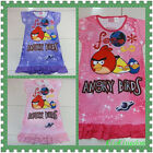 BNWT Angry Birds Girls Night Gown Nightie Sleepwear Size 2-6