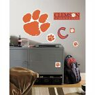Clemson University Giant Peel & Stick Removable Wall Decal Sticker