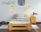 "Sale New Single  Bed 3 ft ""Lidia"" color Pine,Walnut,Oak,Alder Solid Wooden"